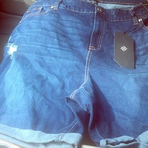 Brand new jean shorts